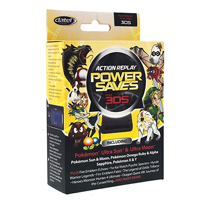 Amazon com: Action Replay Powersaves Cheat Device for 3ds