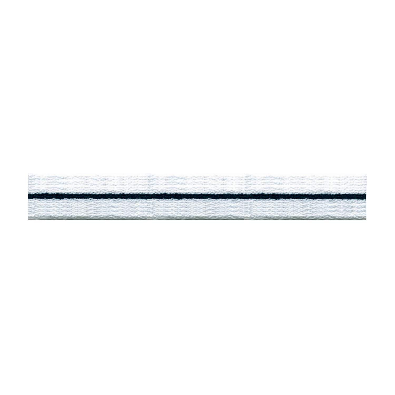 S.I.C. ストライプパイルテープ 15mm C/#1 ホワイト×ブラック×ホワイト 1反(30m) SIC-1201   B07LFV89P2