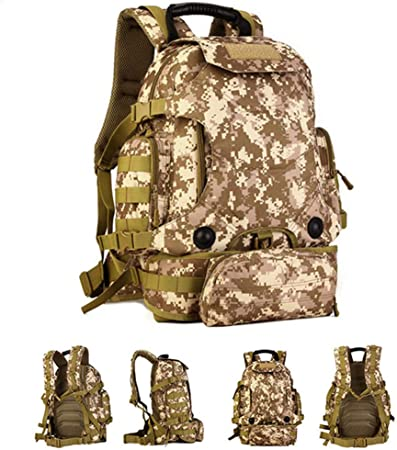 SXDE Mochila táctica 40L 2 en 1, Bolsas Militares, Mochila ...