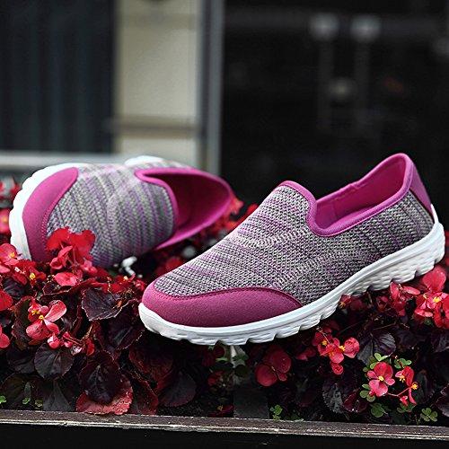 Mémoire Léger Femme Baskets Chaussures Madaleno Rose Course De En Mousse Mesh Sneaker dwXIxxU