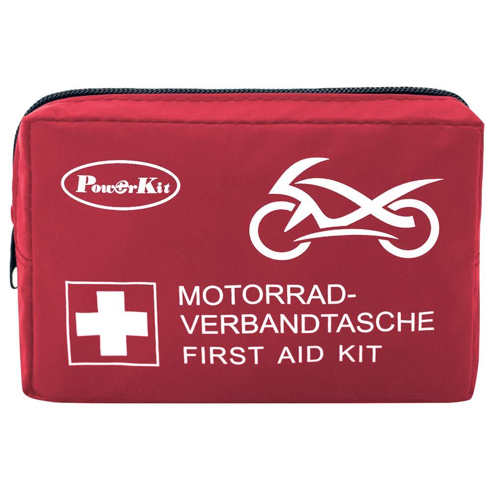 PowerKit® de Primeros Auxilios para Moto, DIN13167-2014 (Seguridad)
