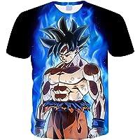 Camiseta Dragon Ball Niño Unisex 3D Impresión Hombres Mujer Camisetas y Camisas Deportivas Camisetas de Manga Corta…