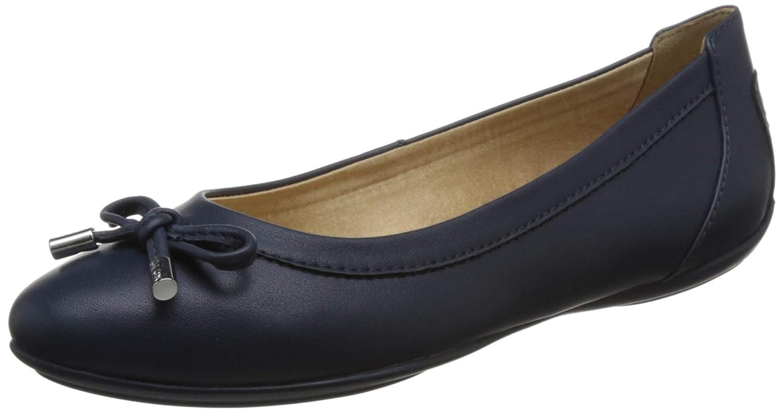 TALLA 39 EU. Geox Charlene D84Y7A Mujer Bailarinas,Merceditas,Bailarinas Clásicas,fémina Zapatos Planos,Bailarinas,Zapatos del Verano,Elegante,en Lazo,Ocio