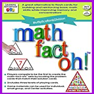 Learning Advantage 2167 math-fact-oh! Multiplication and Division Game, Minimum Recommended Grade: 3