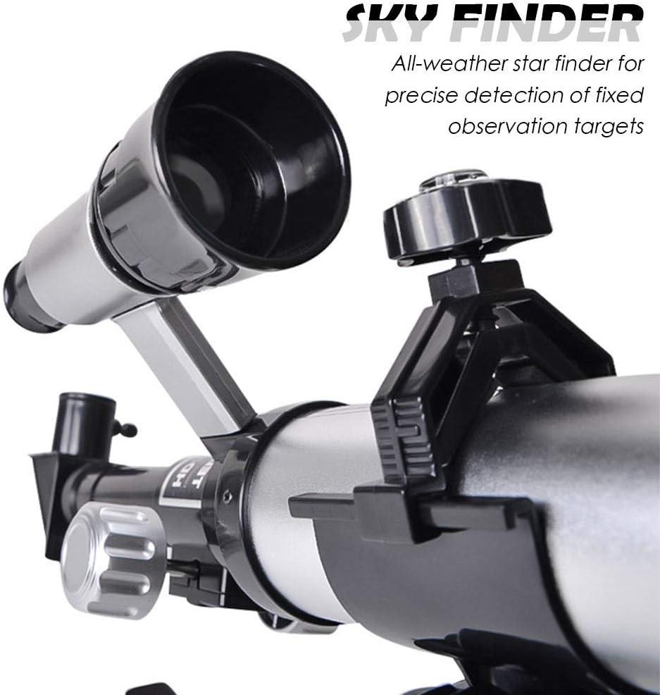 SZRWD Einsteiger Teleskop,Teleskop Astronomisches,RefraktorTeleskop,360mmFokus,50mmDurchmesser,Leistungsstarke Fokussierf/ähigkeit,Hohe Aufl/ösung,Geeignet f/ür Kinder und Sch/üler