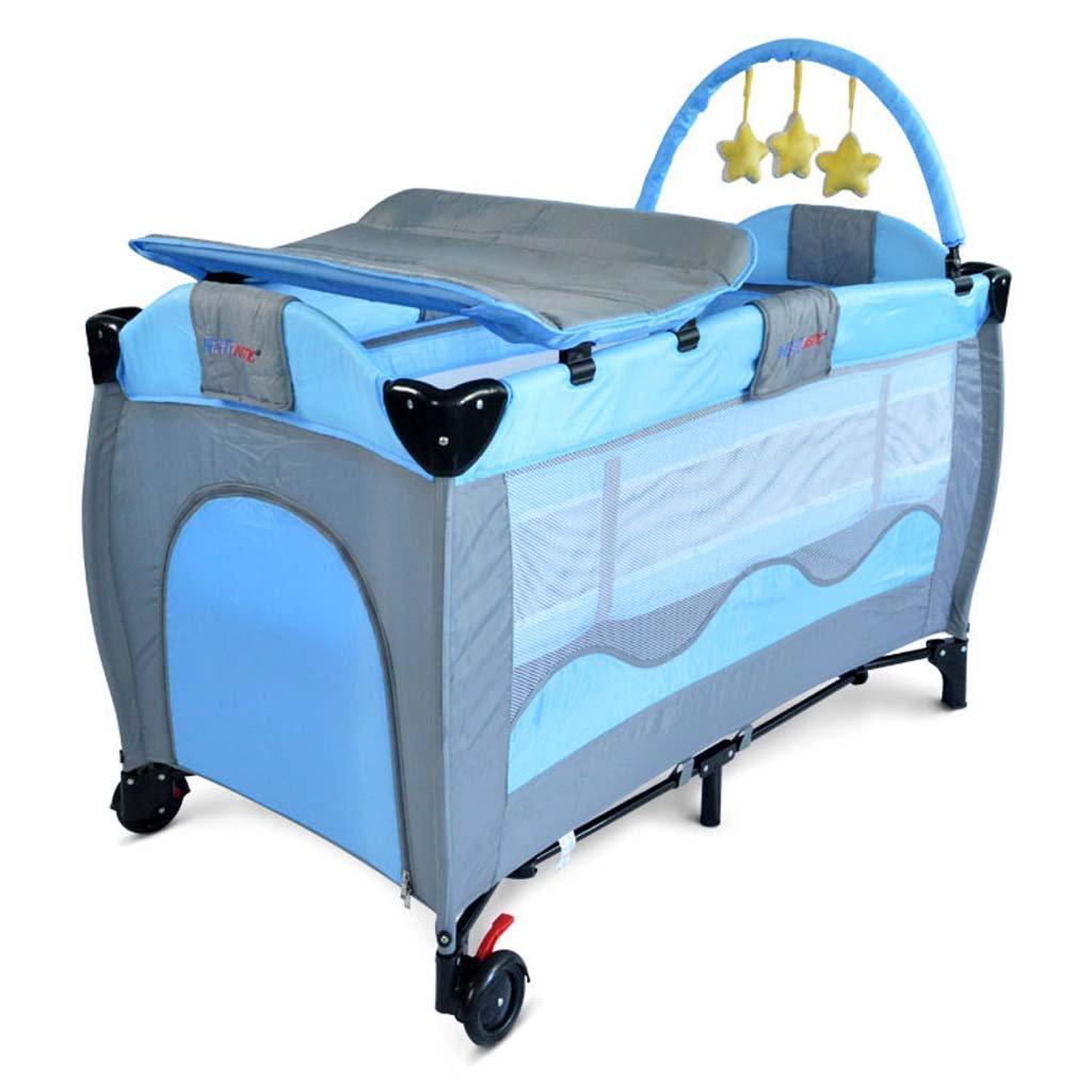 美しい DS- 乳児用フェンス B B) 子供用の遊びベッド秋の保護フェンスポータブル折り畳み式の赤ちゃんのおむつテーブル赤ちゃんのテーブルを変える&& (色 : B07PJ7WHLN B) B B07PJ7WHLN, ケアショップ さくら:b6c4cbac --- a0267596.xsph.ru