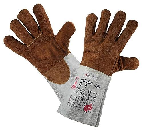 Guantes de protección para soldadura FULDA-ISO, resistente al calor / hilo Kevlar: Amazon.es: Zapatos y complementos