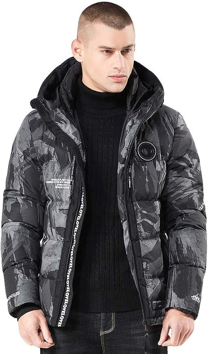 Pandaie-Mens Product Long Coat Men Waterproof.Men Winter Camouflage Blouse Thickening Coat Outwear Top Blouse Plus Size AAA-121254