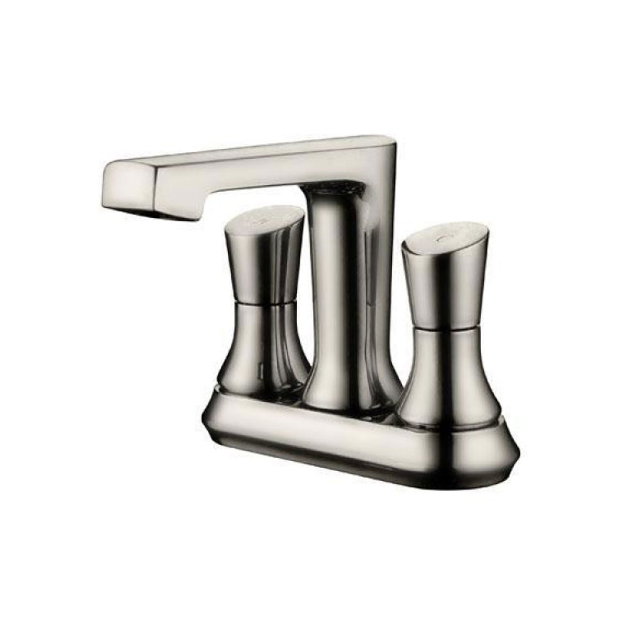 Yosemite Home Decor YP9312-BN Two Handle Centerset Lavatory Faucet, Brush Nickel