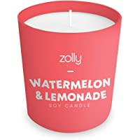 Watermelon Lemonade Mini Candle 40g, Scented Candle, 15 Hours Burn Time by Zolly