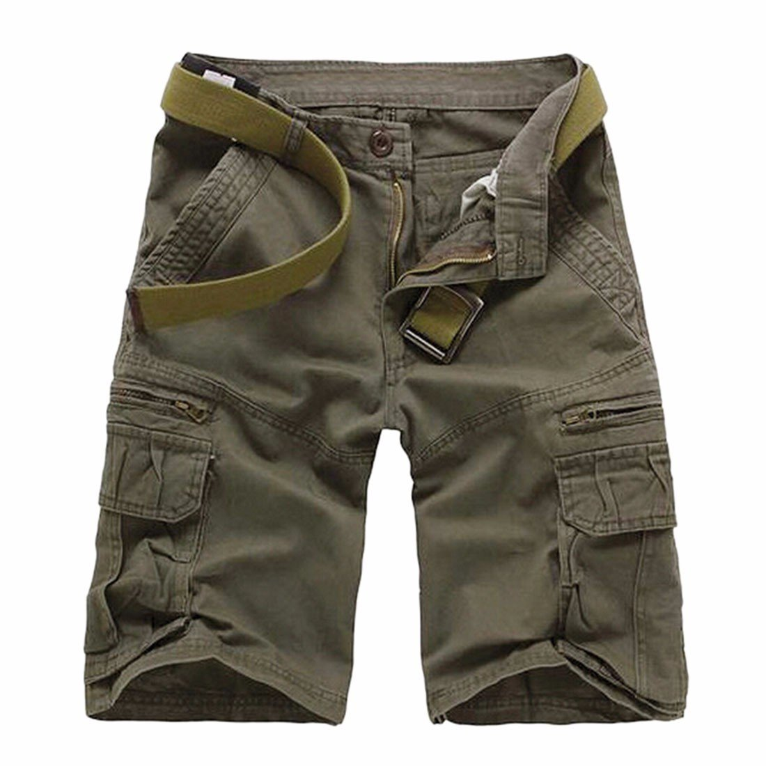 Men Cargo Casual Combat Overall Outdoor Work Short Pants Military Slacks Shorts Winson