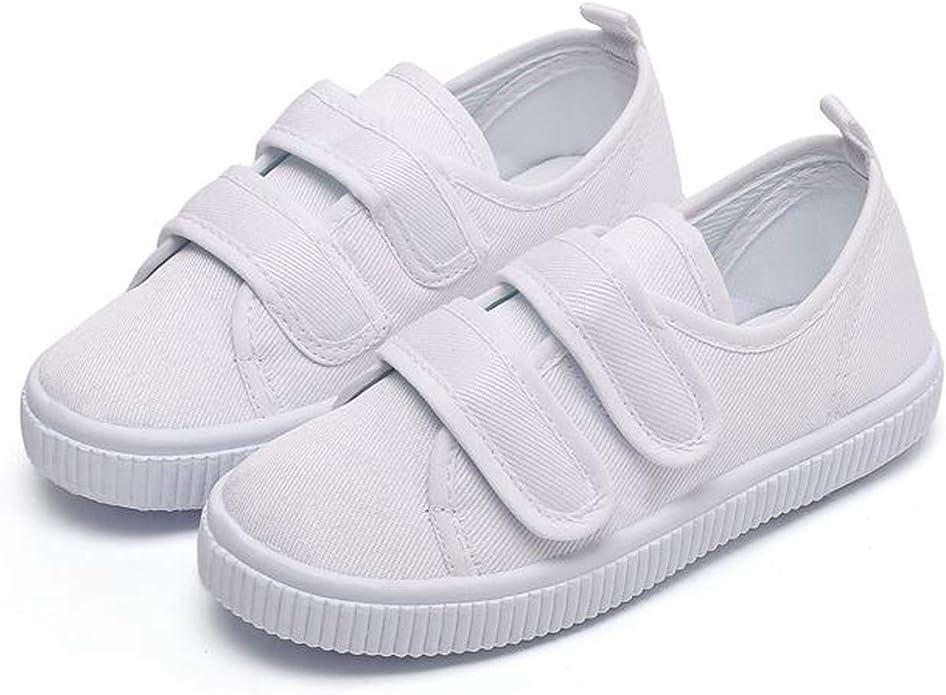 Kids Baby Sneaker School Uniform White