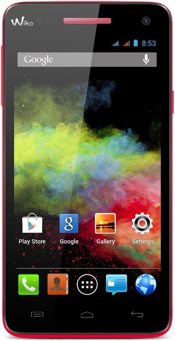 Wiko Rainbow Coral Smartphone libre 5 Dual SIM Quad Core Wiko ...