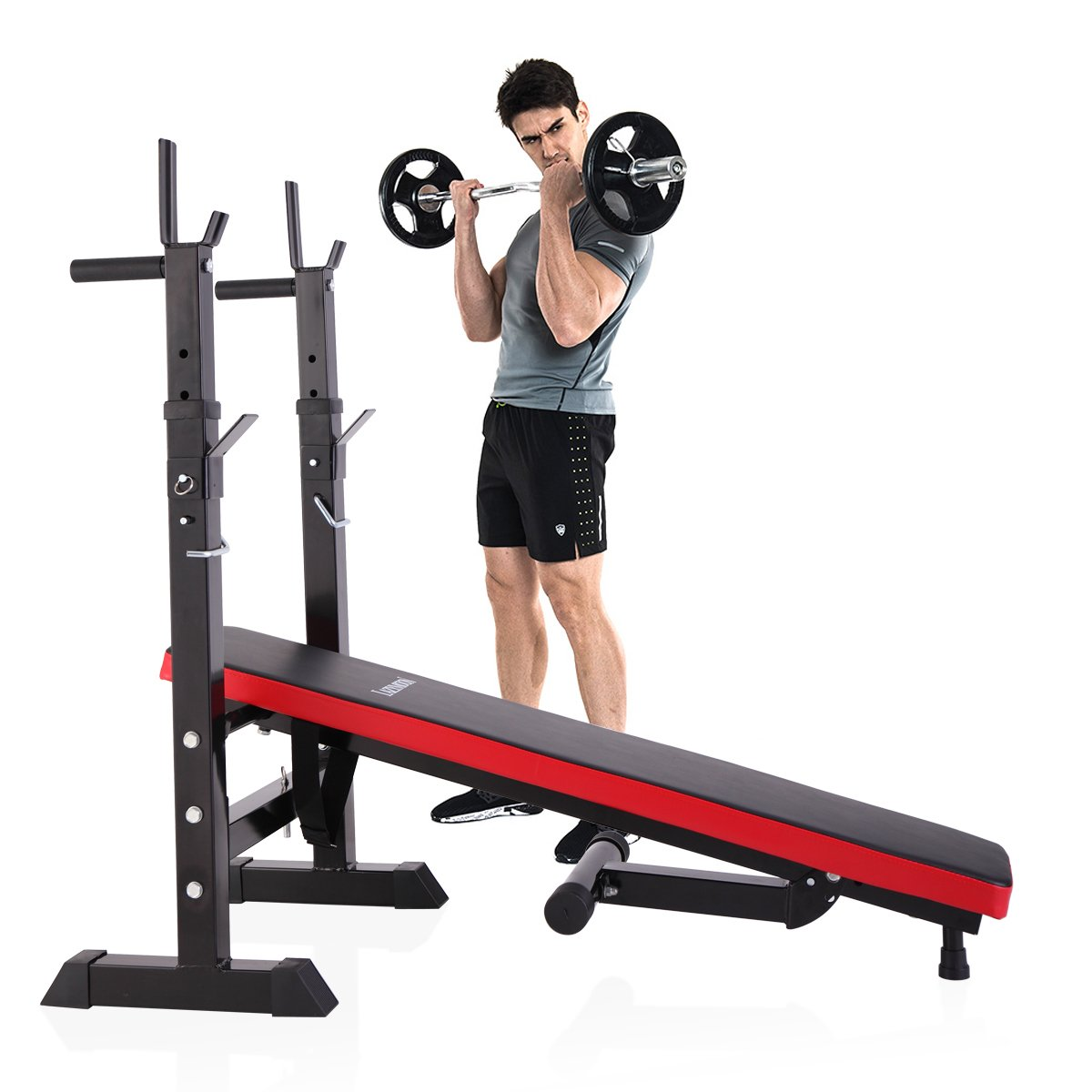 JAXPETY Multi-function Adjustable Weight Lifting Bench
