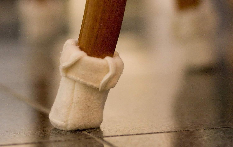 Mini, Umfang 4,5 - ca. 6 cm, Anthrazit Wukies Stuhlsocken Stulpe