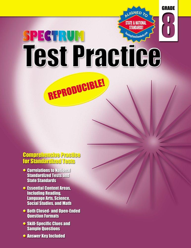 Buy Test Practice, Grade 8 (Spectrum) Book Online at Low Prices in