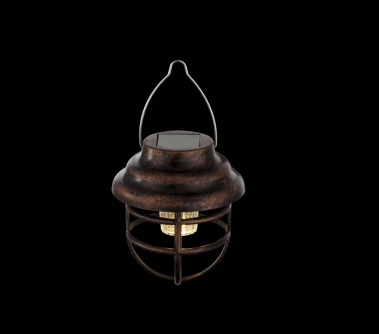 Globo Lighting Suspension solaire inox Plastique noir IP44