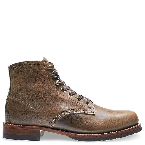 f3a368eb678 Wolverine 1000 Mile Men's Evans Boots, Stone, 7 D(M) US: Amazon.ca ...
