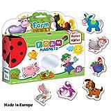 Refrigerator Magnets for Toddlers – Toddler Magnets – Animal Magnets – Refrigerator Magnets for Kids – Baby Magnets – Kids Magnets – Fridge Magnets for Toddlers Kids – Magnetic Animals Learning Set