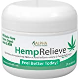 Organic Hemp Extract Pain Relief Cream Plus Arnica and MSM
