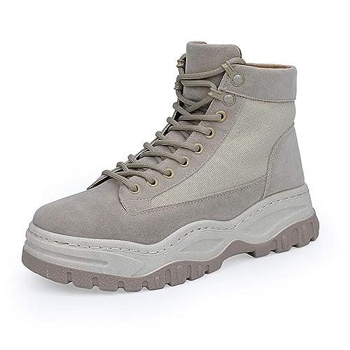 Hombres Zapatos para Caminar Zapatos de Viaje al Aire Libre Zapatos para Escalar Antideslizantes de Piel