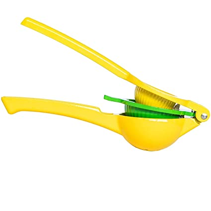Lemon Squeezer Citrus Lime Juicer - Best Top Rated Heavy Duty Hand Held Manual Double Bowl
