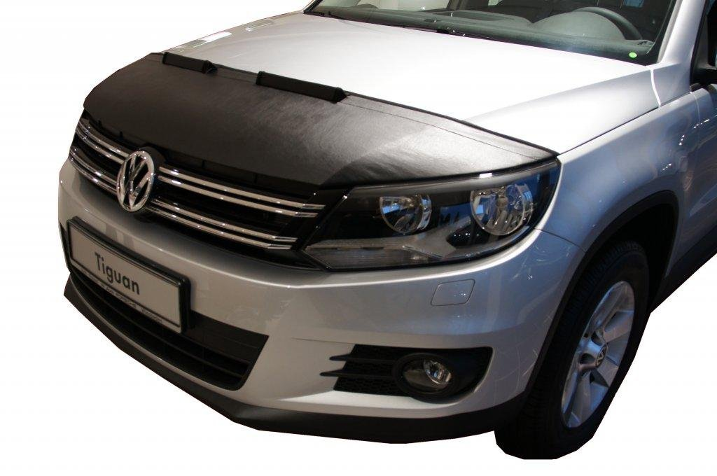 HOOD BRA Front End Nose Mask for VW Volkswagen Tiguan 2007-2016 Bonnet Bra STONEGUARD PROTECTOR TUNING