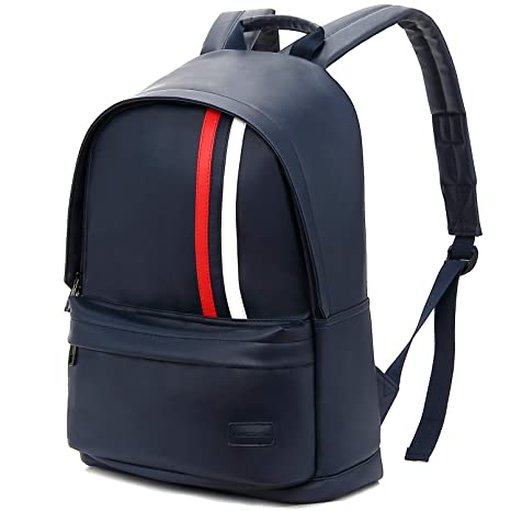 9e4cefb176 Amazon.com: KINGSLONG School Backpack for Girls Boys Student, Campus  Backpack Waterproof Lightweight Book-Bag Stripy Backpack(Blue): Computers &  Accessories