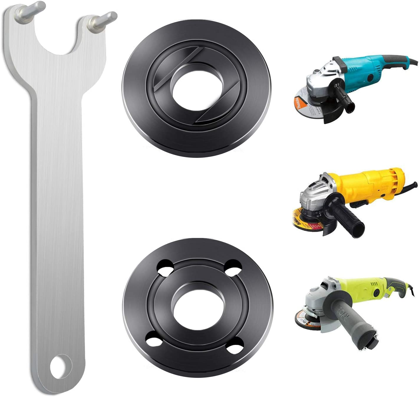 2 in 1 Power Tool Angle Grinder Metal Wrench Spanner Set Kit