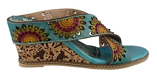 057d05a71e Amazon.com | L'Artiste by Spring Step Women's Enticing Turquoise 37 ...