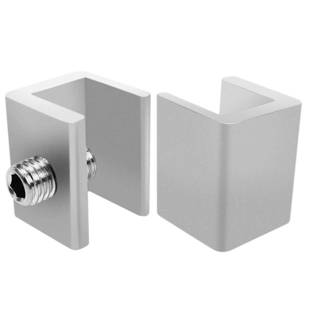 SelfTek 8 Set Adjustable Sliding Window Locks Window Door Frame Security Stops with Key and 2 Free Silicone Corner Cover by SelfTek (Image #4)