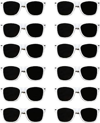 Wayfare Fashion Sunglasses White Mens Womens unisex 100/% UV400 protection