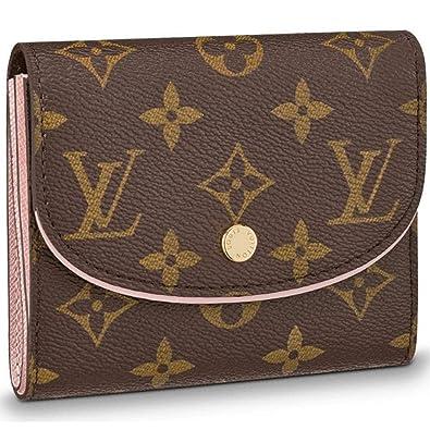 892c41ab2bf3 Amazon.com  Louis Vuitton Monogram Canvas Ariane Wallet Rose Balleria  Pocket Article  M62037  Shoes