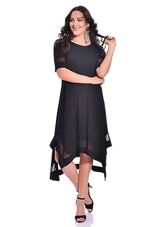 Designer Damen Abendkleid asymmetrisch auch Große Größen, schickes ...