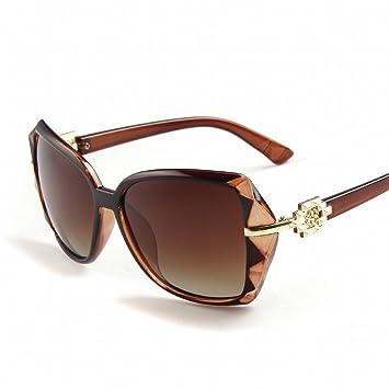 YL Se?ora Polarizada Gafas de Sol Retro Gafas de Sol Ojos ...