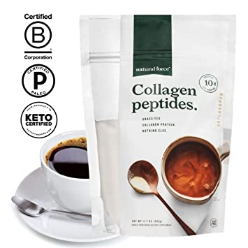 Amazon.com: Péptidos de colágeno de hierba, mejor colágeno ...