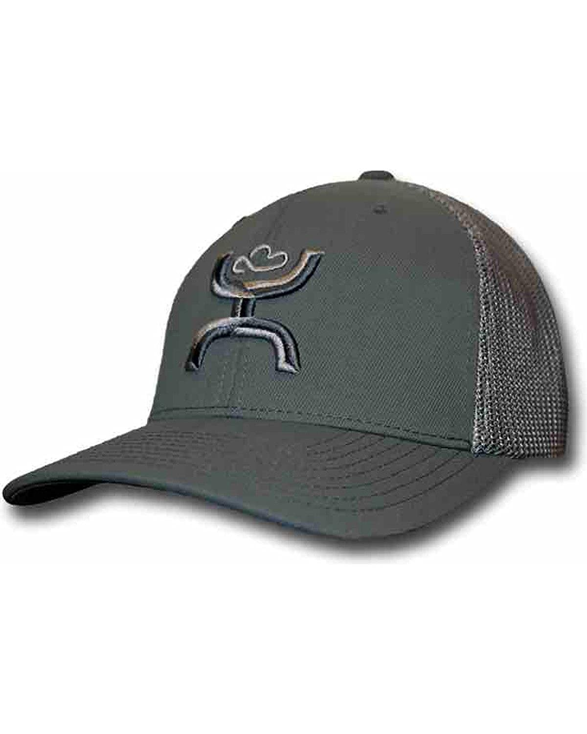 HOOey Men s Chi Grey Snapback Trucker Hat Grey One Size at Amazon Men s  Clothing store  9e6841f8ade