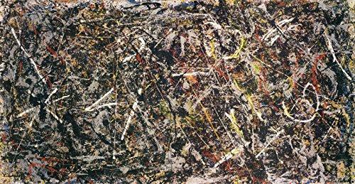 56in x 27in Alchemy, 1947 by Jackson Pollock - Stretched Canvas w/ (Alchemy Canvas)