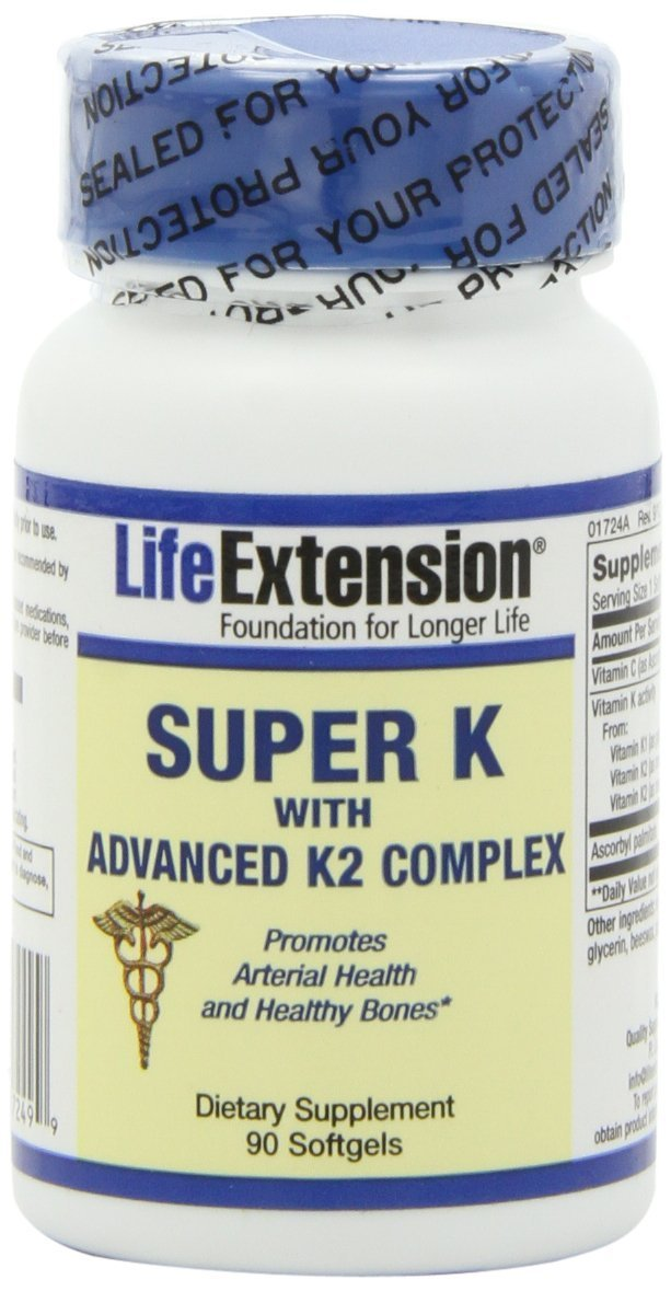 Life Extension Super K with Advanced K2 Complex Softgels, 270-Count Pack (1yp9ui) Life-r1