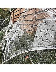 PartyWoo Spinnenweb Halloween, 80 g