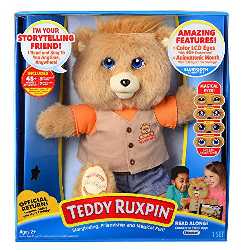 Teddy Ruxpin Bear Storytelling, Friendship, and Magical Fun exclusive original outfit bear from Teddy Ruxpin