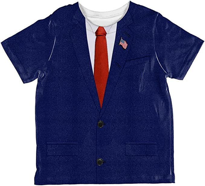 Halloween Election Donald Trump Costume All Over Toddler T Shirt