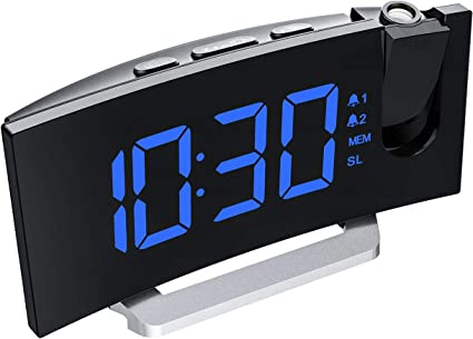 Amazon.com: Mpow Reloj despertador de proyección de 5 ...