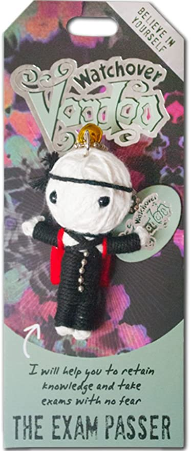 "Watchover Voodoo Doll The Exam Passer   3/"" New Lucky Charm"