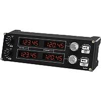 Logitech G Saitek Pro Flight Radio Panel Controlador de Radio de Simulación de Vuelo, 4 Pantallas Led Independientes con…