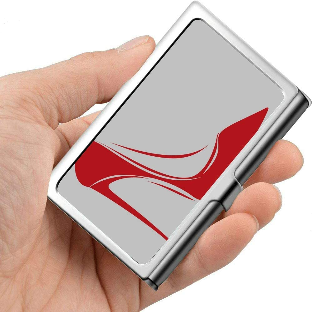 Amazon.com : High Heel Lady Elegant Shoes Multi Business Card