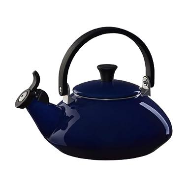 Le Creuset Indigo Enamel On Steel 1.5 Quart Zen Tea Kettle