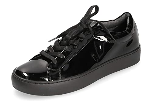 1faed3ce Vagabond - Zapatillas de Charol para Mujer, Color Negro, Talla 37 EU:  Amazon.es: Zapatos y complementos