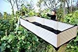 Inchant 1 PC Creative Raised Garden Bed Kit,Outdoor/Indoor/Balcony/Backyard/Rooftop Vegetable raised bed Grow Flowers Elevated Planter,Vegetable Planters - Water Storage,Cold Resistant,4pcs Wheels