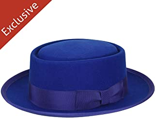 product image for Hats.com Danger Pork Pie - Exclusive Royal, Small